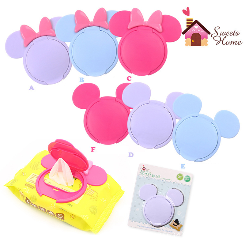 1 Pc Baby Wipes Lid baby Wet Wipes cover Portable child wet tissue Lid Cartoon wet wipes paper lid paper wet tissue cover lid