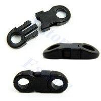 Buckles Black For Paracord Bracelets Plastic Clasp Side Release 100pcs Lot Jul14 25