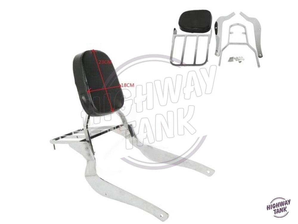 Motorcycle passenger Backrest Sissy Bar Luggage Rack Motor Rear decoration case for Suzuki Volusia VL800 Boulevard M50 C50 05-11