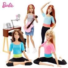 Оригинальный бренд Барби Кукла, игрушки для девочек спорт все суставы двигаться комплект дни рождения для девочек Подарки для детей игрушки куклы для детей