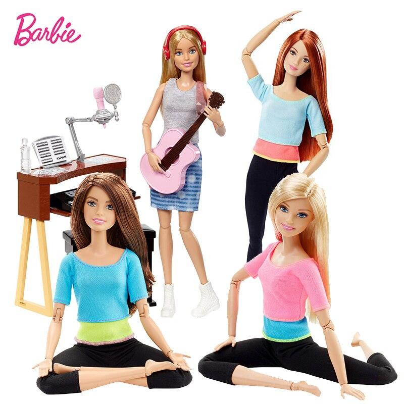 Original Marke Mädchen Puppe Spielzeug Sport Alle Gelenke Bewegen Set Geburtstage Mädchen Geschenke Für Kinder Boneca spielzeug für kinder