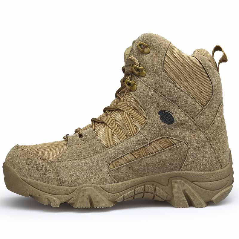marron Chaussures De Travail Neige Armée Boots Mode Sand Hommes Desert Bottines Ww Militaires Confortable 204 Bottes Masorini B5axwqvSP