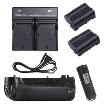 MEIKE MK-DR750 MK DR750 Built-in 2.4g Wireless Control Battery Grip for Nikon D750 AS MB-D16 + 2pcs Battery + Charger