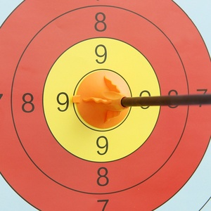 Image 5 - Huntingdoor 어린이 빨판 화살표 6/12 pcs 60 cm 직경 6mm 안전 화살표 양말 야외 어린이 활 화살표 장비 장난감