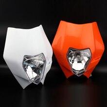 цена на Headlight Mask Headlamp Assembly For KTM 690 ENDURO R 250 EXC-F 350 XCF-W 530 XC-W Motorcycle Accessories Front Headlights
