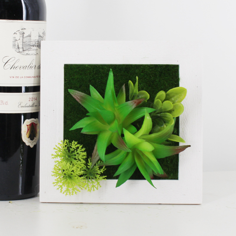 Yaradıcı 3D 3D Süni Bitkilər Ev Divar Stiker Dekorasiyaları - Şənlik aksesuarları - Fotoqrafiya 6