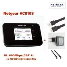 European version Unlocked 2.4″touchscreen Netgear Aircard AC810S 810S 2.4G/5 GHZ 600Mbps 4G LTE MiFi Mobile Hotspot wifi Router