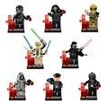8 unids Figuras Minifig General Grievous Kylo Ren Compatible Lepine legoINGlys StarWars Darth Vader Star Wars Bloques de Juguete 2016