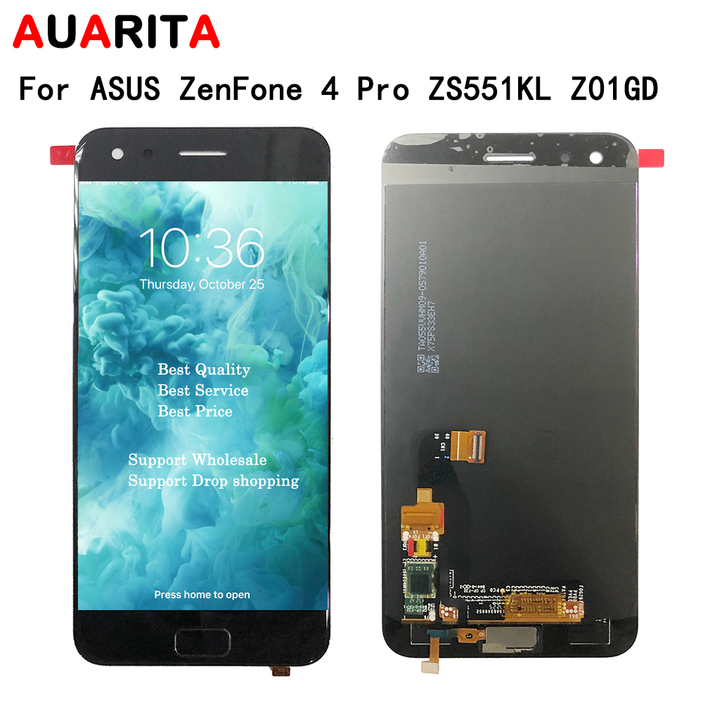 LCD for ASUS ZenFone 4 Pro ZS551KL Z01GD 5.5 LCD Display Touch Panel Screen sensor glass Digitizer Assembly Phone ReplacementLCD for ASUS ZenFone 4 Pro ZS551KL Z01GD 5.5 LCD Display Touch Panel Screen sensor glass Digitizer Assembly Phone Replacement