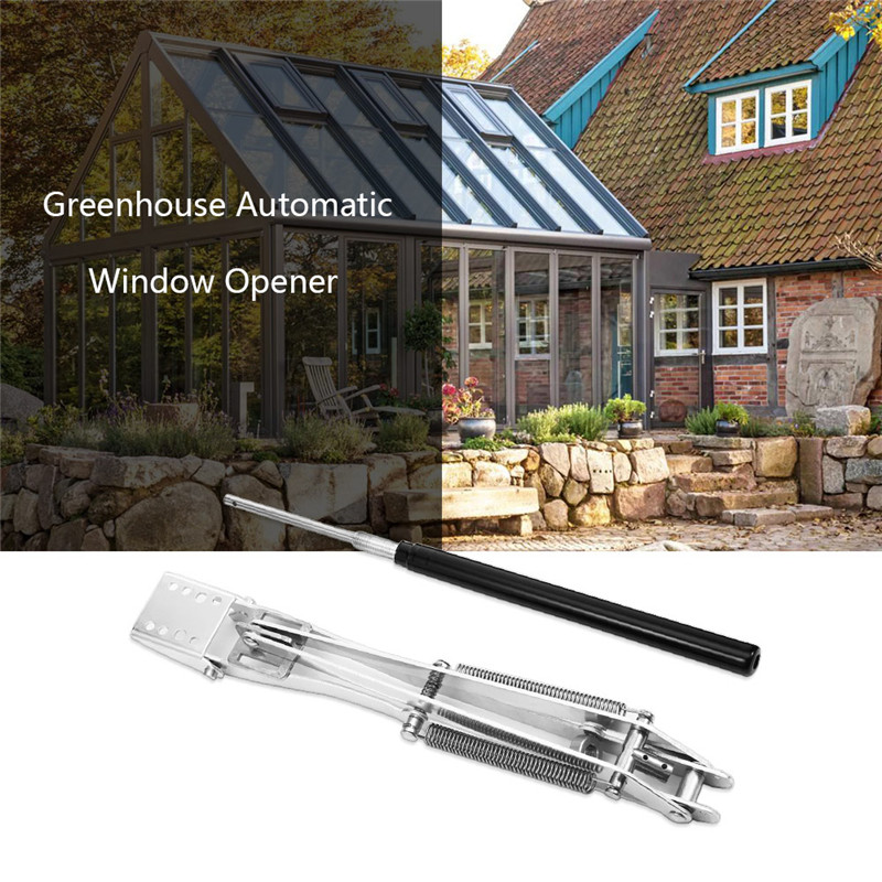 TTLIFE 1PC Solar Heat Sensitive Auto Thermo Greenhouse Vent Window Opener Automatic Agricultural Windows Opening Garden Supplies
