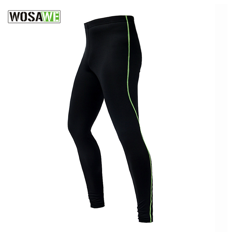 WOSAWE Mens Compression Tights Tight Base Layer Skins Running Run font b Fitness b font Excercise