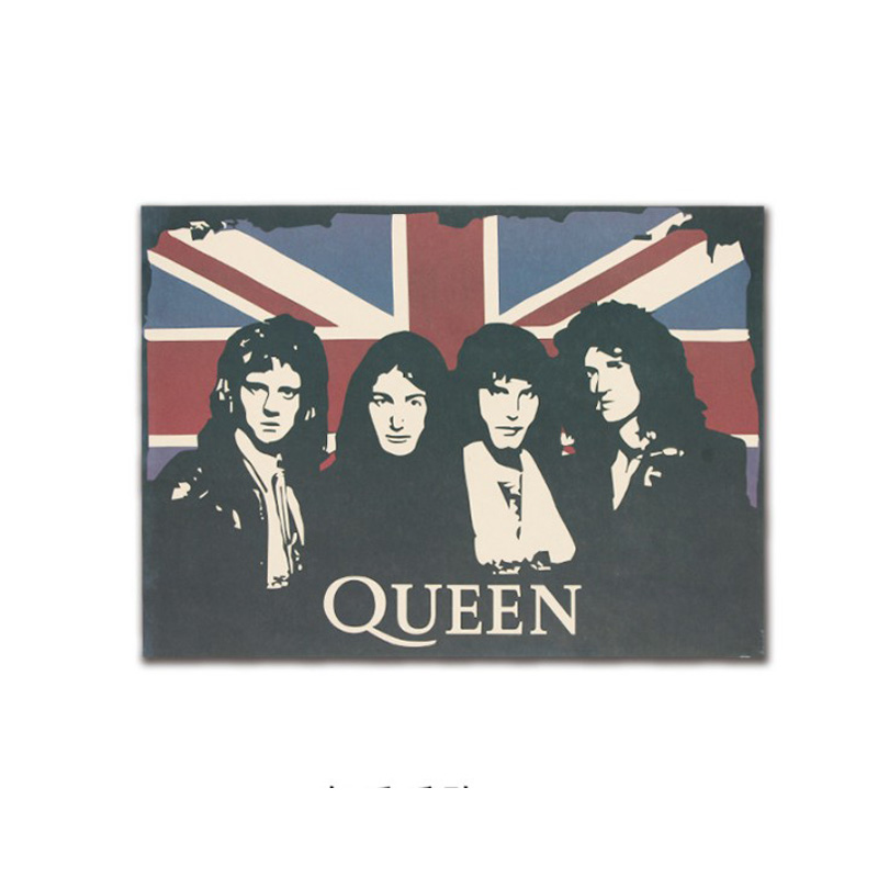 The Band Of Queen Decor Vintage Kraft Paper Movie Poster Home Wall Decoration Art Magazines Retro Posters And Prints