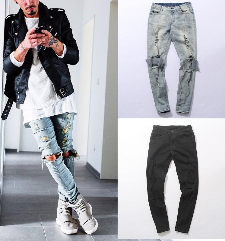 Online Get Cheap Black Destroyed Jeans -Aliexpress.com | Alibaba Group