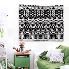 IBANO Mandala Tapestry Vintage Striped Polyester Wall Hanging Tapestries Wedding Decoration Table Cloth 197*147cm/147*127cm