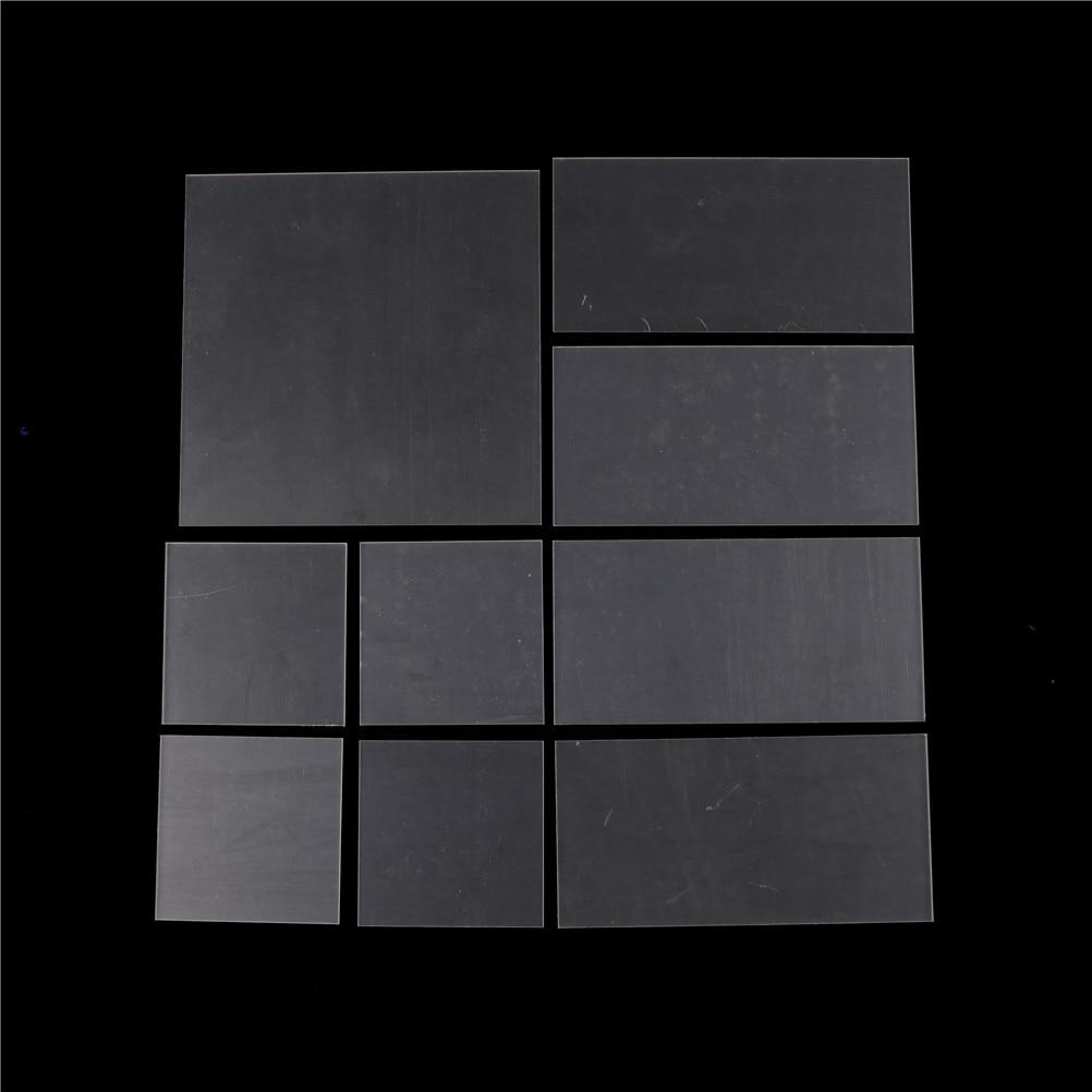1pcs 2-5mm Plastic Transparent Board Perspex Panel thickness Clear Acrylic Perspex Sheet Cut Hot Sale