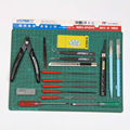 Ustar UA90076 Modelagem Suíte de Ferramentas Específicas (18 Pçs/set) Suíte de Ferramentas de Ferramentas Modelo Modelo de Construção Modelo Hobby Acessório