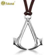High Quality Bahamut Men's Fashion Jewelry 925 Sterling Silver Jewelry Creed Men Trendy Choker Necklace Steampunk Free Shipping