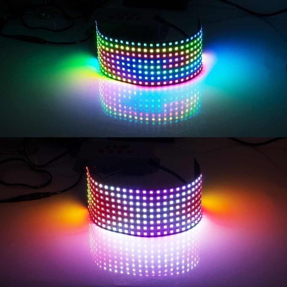 4-Pin WS2812B WS2812 LED Chip i radiator 5 V 5050 RGB WS2811 IC RGB WS2812 wbudowany układ scalony Dearm kolor taśmy moduł światła 1000 sztuk