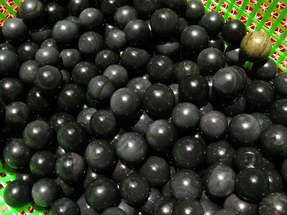 60 natural rainbow eye obsidian quartz crystal ball sphere