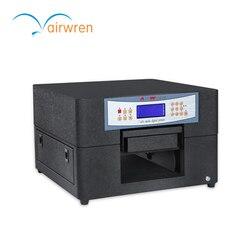 Tanie LED płaskiego drukarki drukarka atramentowa cyfrowy ceramiczne maszyna do druku UV