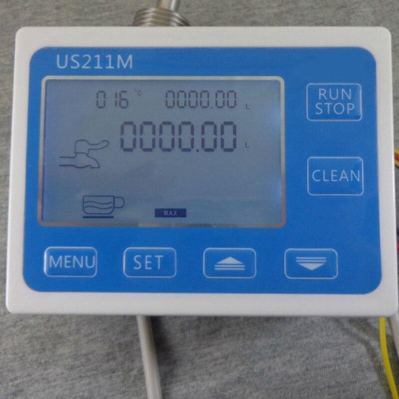 Lecteur de capteur de débitmètre d'eau de contrôleur quantitatif de Machine de Dosage de Us211M C21Tx avec le Usc Hs21Tx 1 30l/Min 24V Displayer, ue - 3