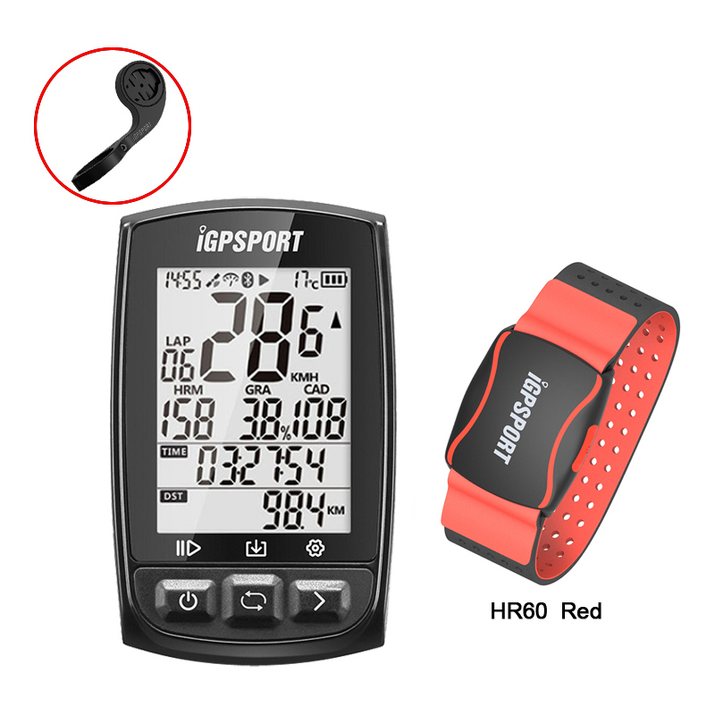 iGPSPORT iGS50E Bike computer GPSEnabled Bicycle Computer navigation Speedometer IPX7 200 hours data storage