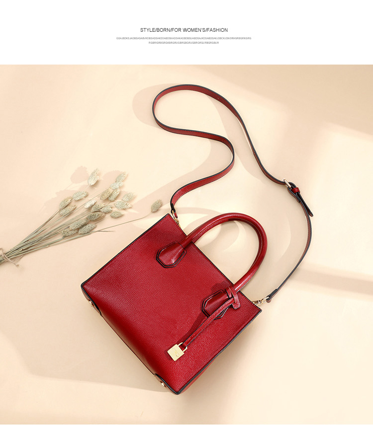 Leather Handbags Casual Women Shoulder Bag Designers Ladies Hand Bags Simple Style Crossbody Messenger Bags free shipping 2017 new designers women leather bags handicraft rivet jacket punk style messenger bags shoulder crossbody bag go