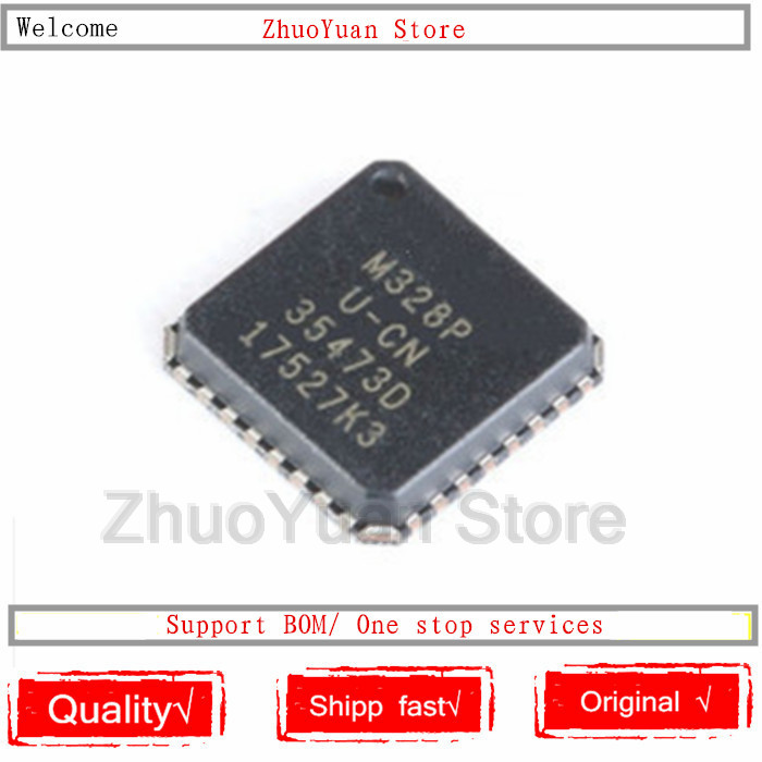 1PCS/lot ATMEGA328P-MU MEGA328P MU ATMEGA328 328P-MU IC Chip New Original In Stock