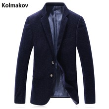 2017 new arrival men's printed casual wool blazers,printed jacket men, Wedding dress Flannel blazers free shipping size M-3XL(China)