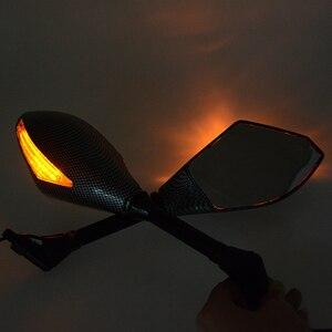Image 5 - Motosiklet Gösterge Dikiz Yan Aynalar ve Entegre LED Dönüş Sinyalleri KTM DUKE200 390 690 Motosiklet Sokak bisikletleri Cruiser
