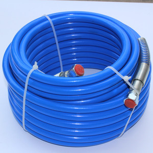 """Image 2 - 15m High Pressure Hose 1/4"""" NPS 3300Psi Max For Wagner Titan Graco Tool Airless Spare Part Hose Paint Sprayer Water"""