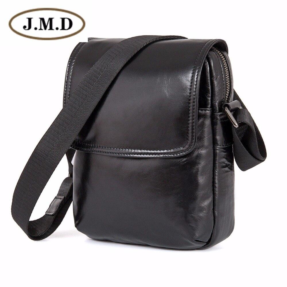 J.M.D Vintage Genuine Leather Mens ling Bag Messenger Bag Crossbody Bag 1031A