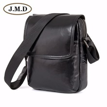 J.M.D  Vintage Genuine Leather Mens ling Bag Messenger Crossbody 1031A