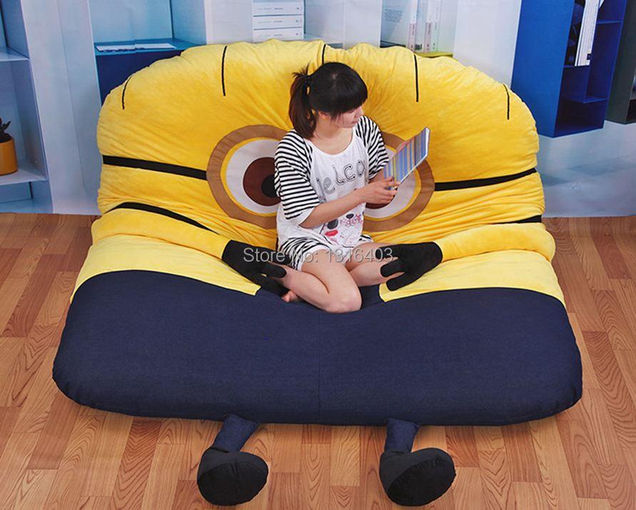 Sensational 1 5 2 M Cute Minions Sleeping Bed Big Stuffed Animals Inzonedesignstudio Interior Chair Design Inzonedesignstudiocom