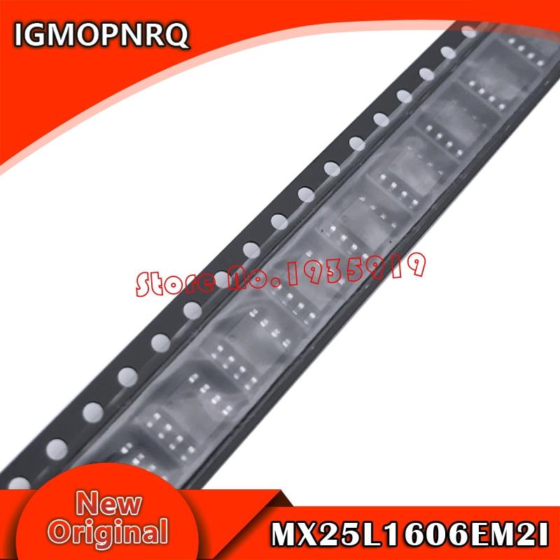 10pcs MX25L1606EM2I-12G 25L1606EM2I-12G MX25L1606EM2I MX25L1606E MX25L1606 25L1606E SOP-8 New Original