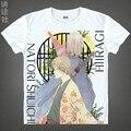 Natsume Takashi T-shirts kawaii Japanese Anime t-shirt Manga Shirt Cute Cartoon Madara cat Cosplay shirts 37706402403 tee 147