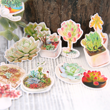 1X bag Heaviness Kawaii Flower stickers DIY decoration Stickers Cute Diary Decoration Scrapbooking diy seal Sticker Stationery