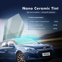 Wholesale Film Front Door Windows Any Tint Shade VLT for Office Trucks Glass 75% VLT 50cm x 10m