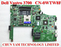 Do laptop original motherboard wtw8f para dell vostro 3700 v3700 cn-0wtw8f 0wtw8f notebook da placa de sistema 100% testado garantia 90 dias