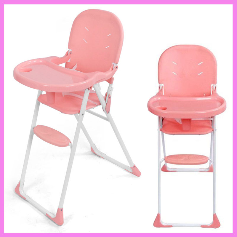 Lightweight Portable Baby Feeding Chair Folding Multifunctional Dining Seat Highchair Baby Toddler Eating Chair Table Plate