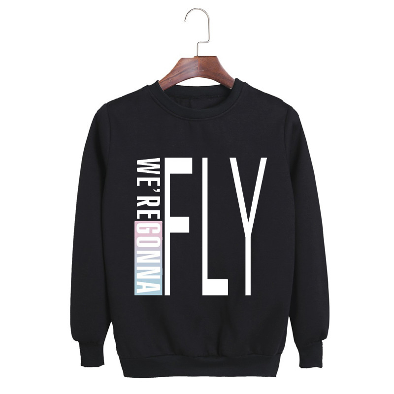 Women's Clothing Adaptable Kpop Korean Fashion 2016 Got7 Flight Log Album Were Gonna Fly In Seoul Cotton Hoodies K-pop Pullovers Sweatshirts Pt064 High Quality And Low Overhead
