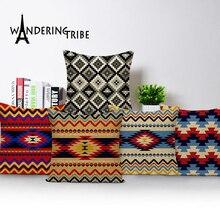 Cushion Covers Geometric Outdoor Cushions Custom Linen Throw Pillowsc Home Decor Morocco Pillow Decorative Cover