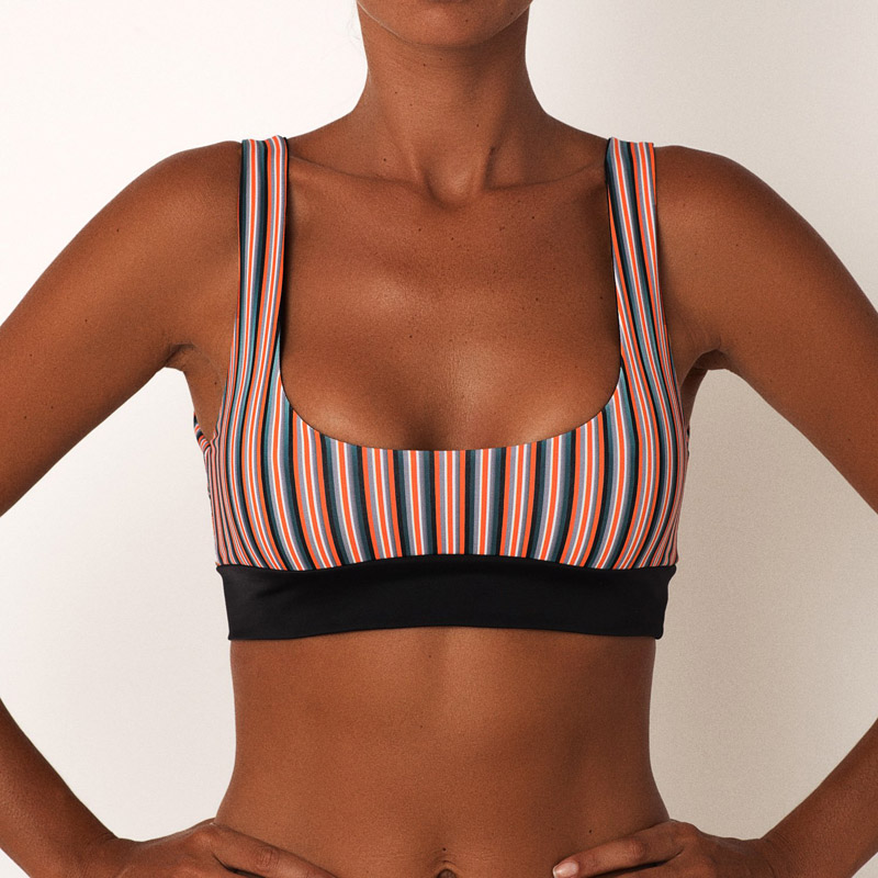 c2175a103c9db 2018 Summer Women Sexy Bikini Thong Underwear Tops Separate Swimsuit Bottoms  Low Waist Striped Bathing Suit Panties For Female-in Two-Piece Separates  from ...