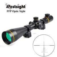 Bestsight 5-15X50 FFP Golden Optics luneta Side Parallax taktyczne lunety myśliwskie lunety celownicze do karabinu snajperskiego Airsoft