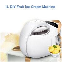 Home 1L Automatic Large Capacity Ice Cream Machine DIY Fruit Ice Cream Machine Double Insulation Ice