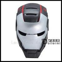 Top Famoso USA Film Cosplay Iron man maschera casco Super-eroe cosplay Maschere giocattoli Per I Bambini Adulti Del Partito di Halloween Compleanno regali