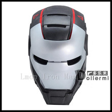 Top Famous USA Movies Cosplay Iron man mask helmet Super Hero cosplay Masks toys For Kids Adults Party Halloween Birthday Gifts