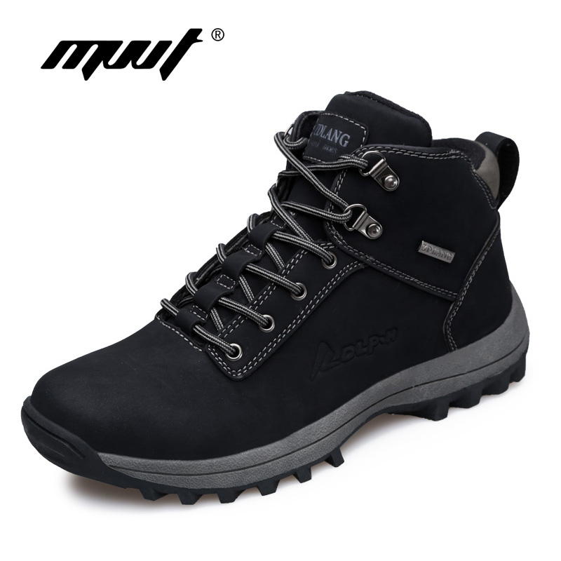 Brand Super Warm Men boots Winter Leather boots Waterproof Rubber Snow Boots England Retro ankle boots For Men winter shoes new men winter boots plush genuine leather men cowboy waterproof ankle shoes men snow boots warm waterproof rubber men boots