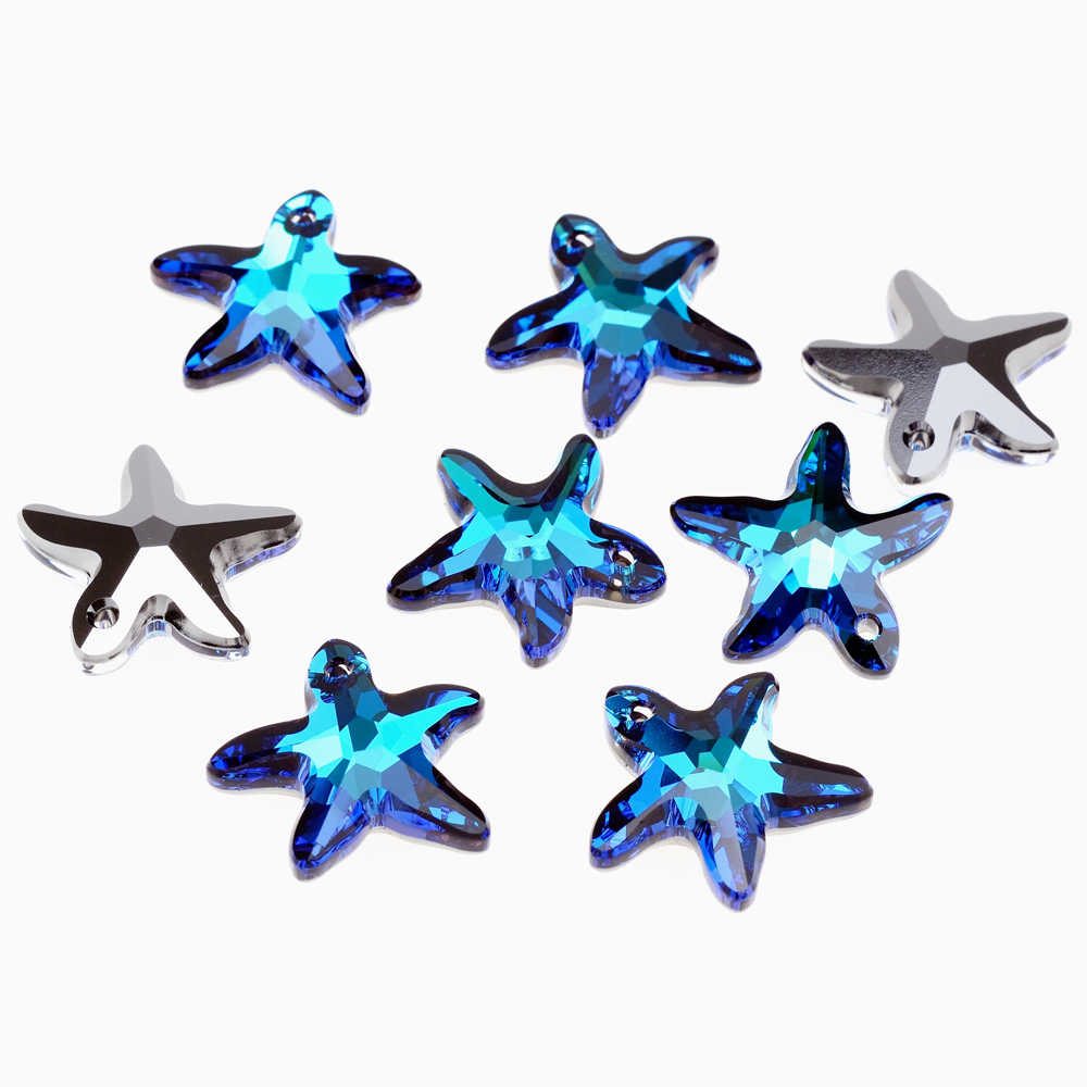 e0fa93ad8 (1 piece) 100% ORIGINAL crystal from Swarovski 6721 Starfish pendant 16mm  20mm Size