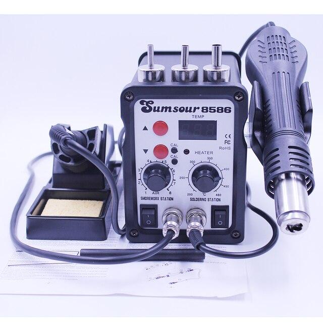 Sumsour 8586 ESD Soldering Station LED Digital SMT SMD Soldering Iron
